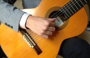 すたじおGギター教室 右手の構え方