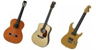 橋口武史のギター教室〜ギターの種類